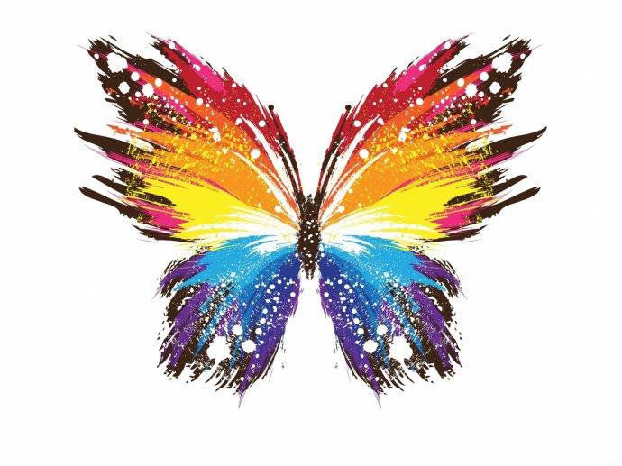 Бабочка, рисунок. Фон для оформления личной страницы