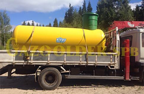 Газгольдер (емкость для хранения сжиженного газа)