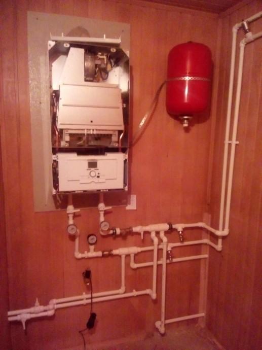 Монтаж и обвязка газового котла Vaillant