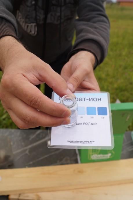 Результат анализа воды на загородном участке